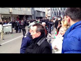 Политические протесты в Болгарии